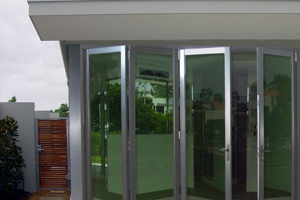 Bi-folding Glass Door