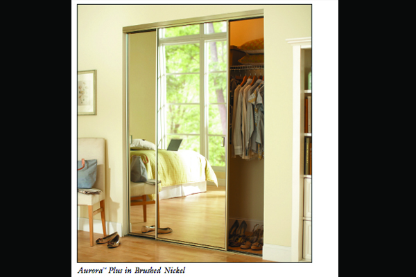 Aurora Plus Wardrobe Mirror Doors