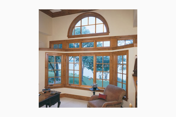 Wood Bay Window