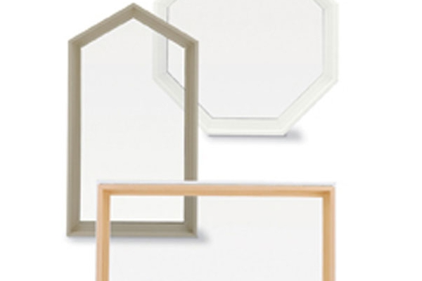 Integrity Wood-Ultrex Polygon Window