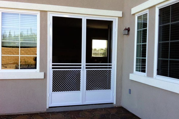 Hinged Screen Doors